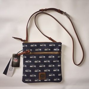 Dooney & Bourke NFL Seahawks Double zip Crossbody